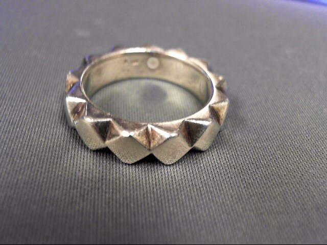Sterling Silver Band 13.07g Size:9.25
