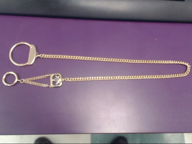 "18"" Mason Pocket Watch Chain"