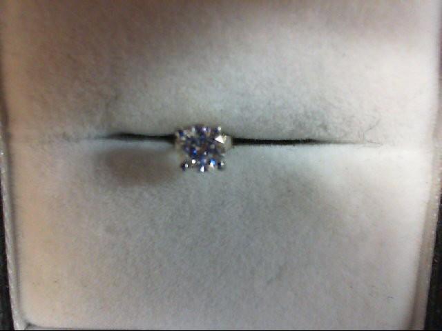 Gold-Diamond Earrings 0.22 CT. 14K White Gold 0.03g