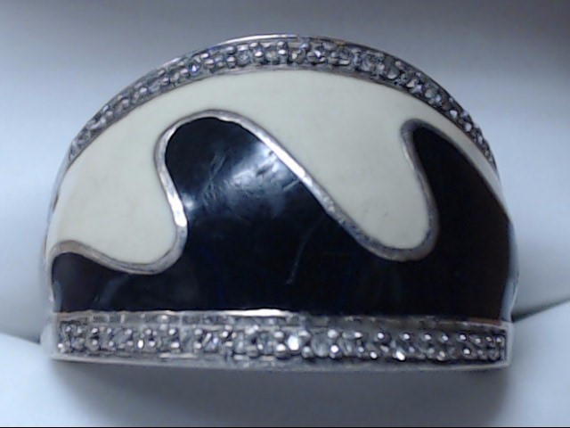 Lady's Silver Ring 925 Silver 7.7g Size:7