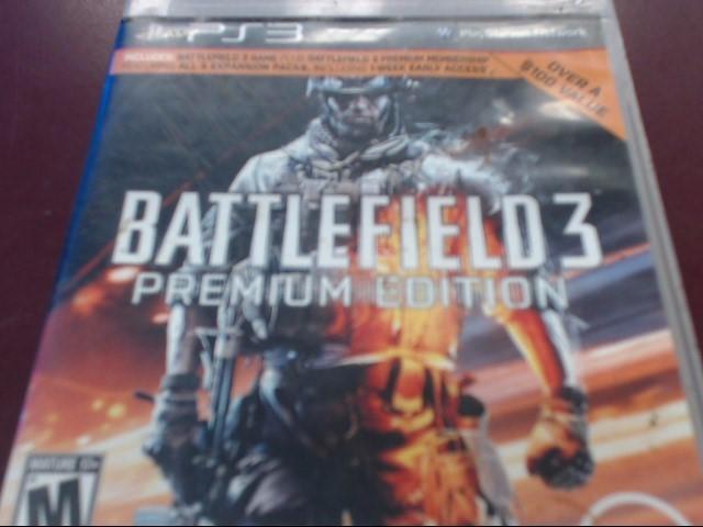 SONY PS3 BATTLEFIELD 3 PREMIUM EDITION