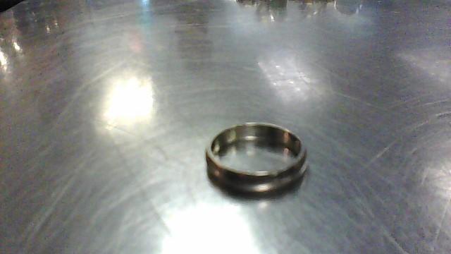 Lady's Gold Wedding Band 14K White Gold 2.9g