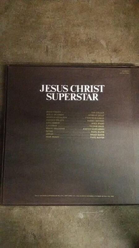 Jesus Christ Superstar Vinyl