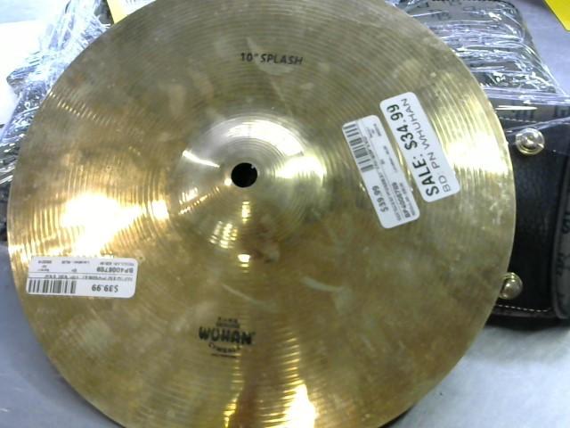 """WUHAN Cymbal 10"""" SPLASH"""