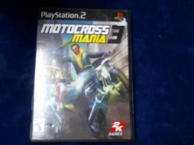 SONY Sony PlayStation 2 Game MOTOCROSS MANIA 3 (2005)