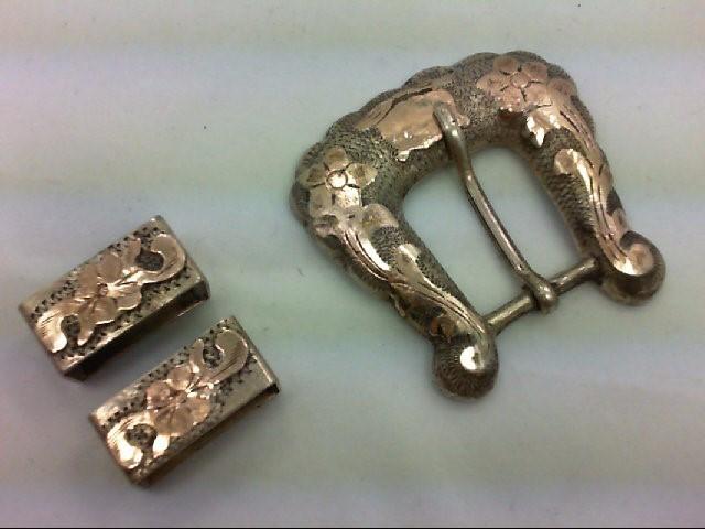 Silver Belt Buckle 925 Silver 45.3g