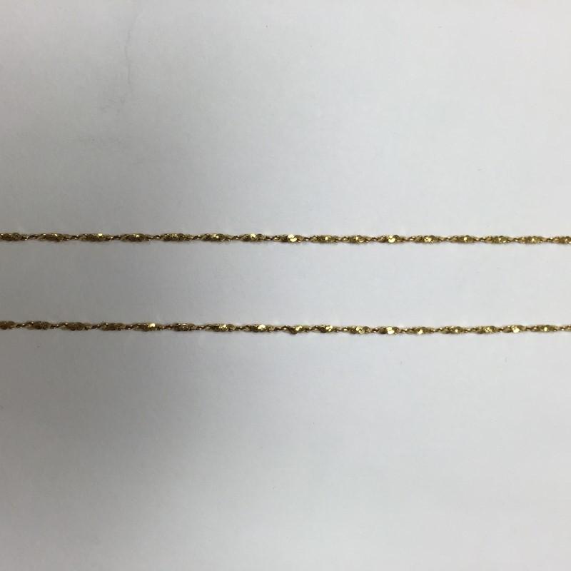 "16.5"" Gold Fashion Chain 14K Yellow Gold 2.2dwt"