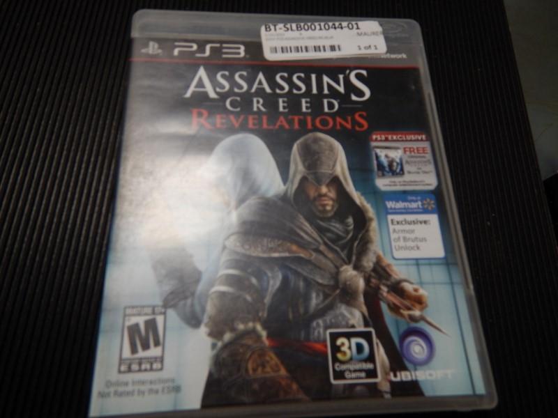 SONY Sony PlayStation 3 ASSASSINS CREED REVELATIONS