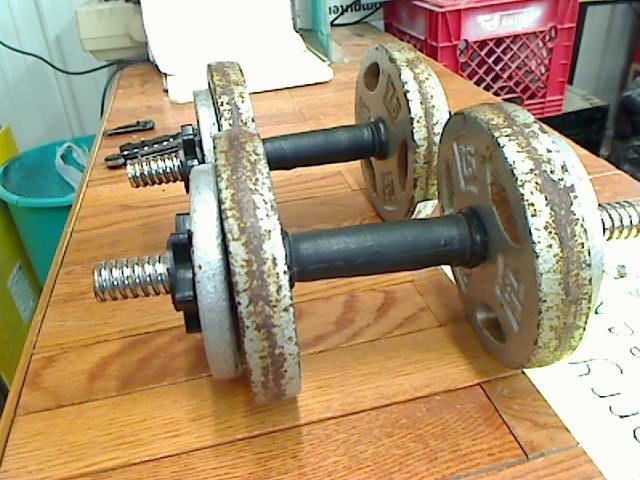 STEEL DUMBELL Exercise Equipment 10LB