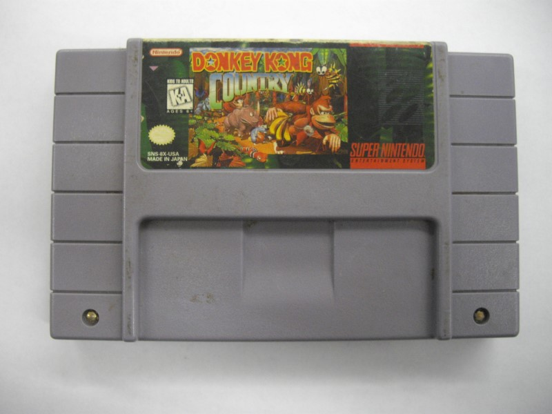 """SNES DONKEY KONG COUNTRY """"GAME ONKLY"""""""