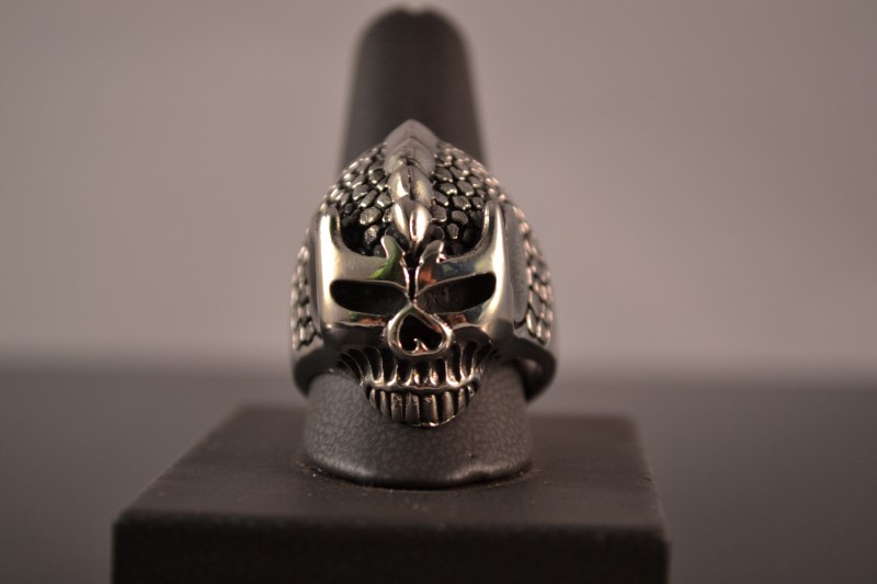 Gent's Ring Silver Stainless 23.6g