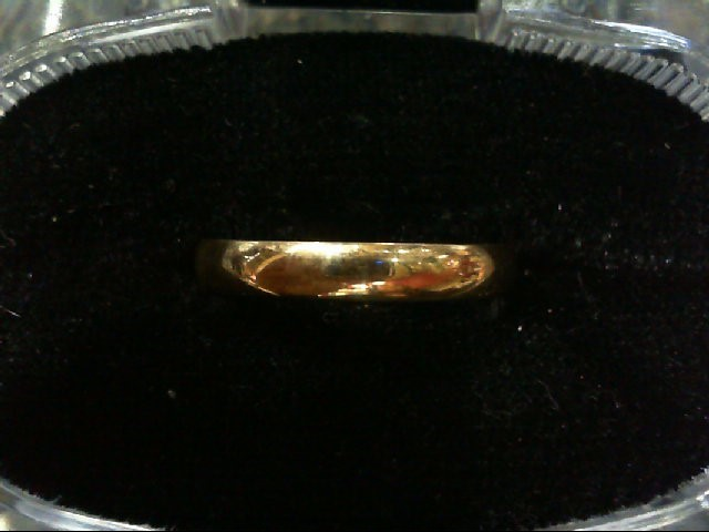 Lady's Gold Wedding Band 14K Yellow Gold 1.5g