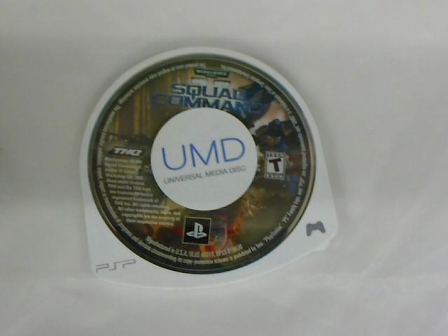 WARHAMMER SQUAD COMMAND-PSP GAME