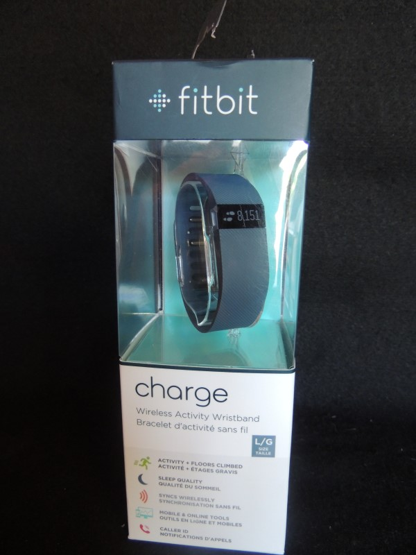 Fitbit CHARGE Wireless Activity Wristband Size Large FB404SLL NIB