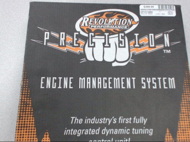 REVOLUTION PERFORMANCE ENGINE MANAGEMENT SYSTEM