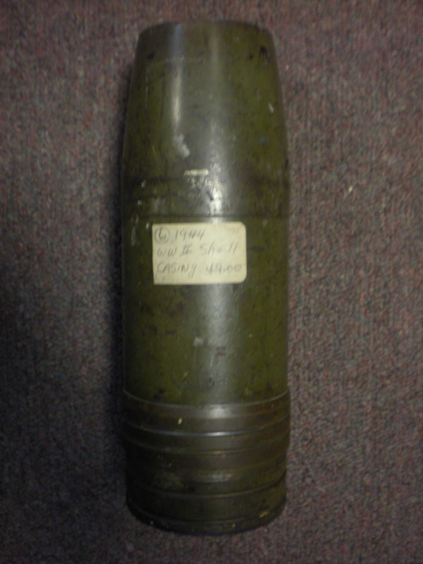 TANK SHELL CASE 1944 US MILITARY