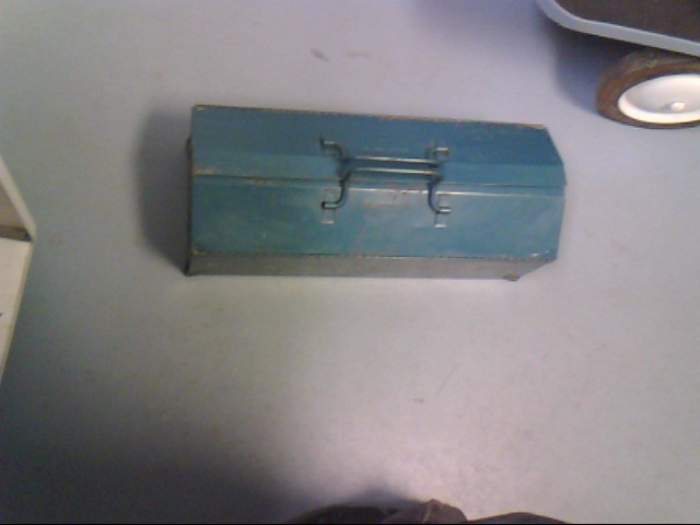 BLUE TOOL BOX W TOOLS