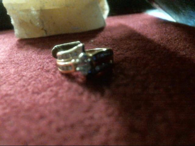 Lady's Diamond Solitaire Ring 29 Diamonds .76 Carat T.W. 14K Yellow Gold 3.7dwt