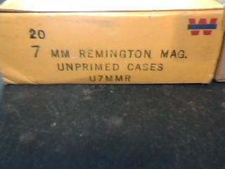 WINCHESTER Ammunition 7MM AMMO