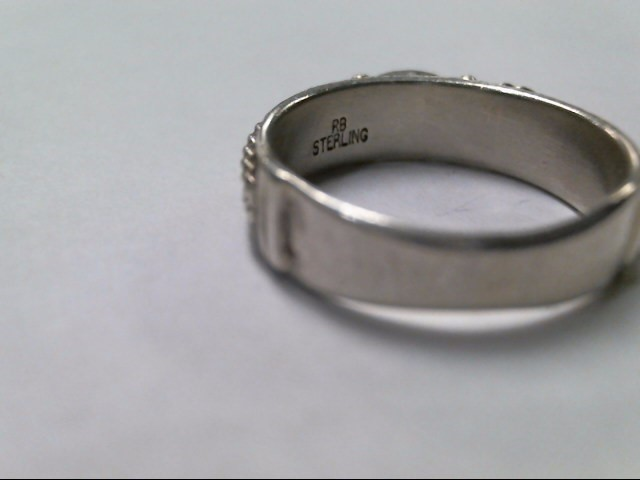 Gent's Silver Ring 925 Silver 5.5g