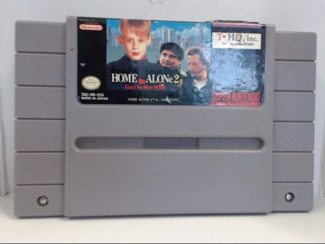 SNES GAME HOME ALONE 2