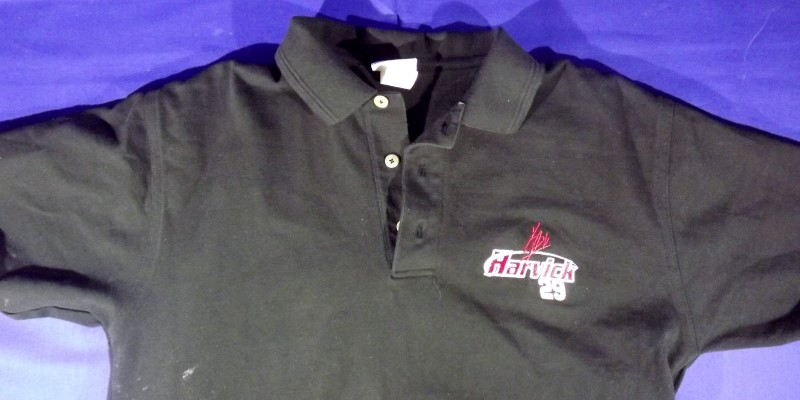 CHASE AUTHENTICS KEVIN HARVICK WOMEN'S POLO