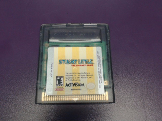 NINTENDO GAMEBOY COLOR STUART LITTLE: THE JOURNEY HOME