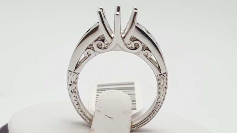 Lady's Platinum-Diamond Wedding Band 8 Diamonds .72 Carat T.W. 950 Platinum 11g
