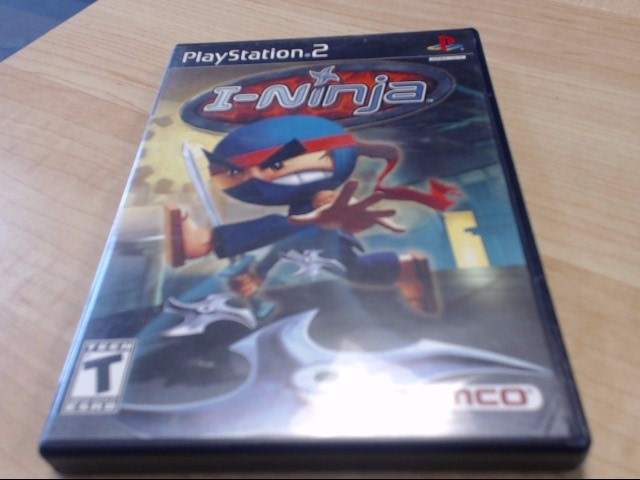 I-NINJA SONY PS2 PLAYSTATION 2 GAMES