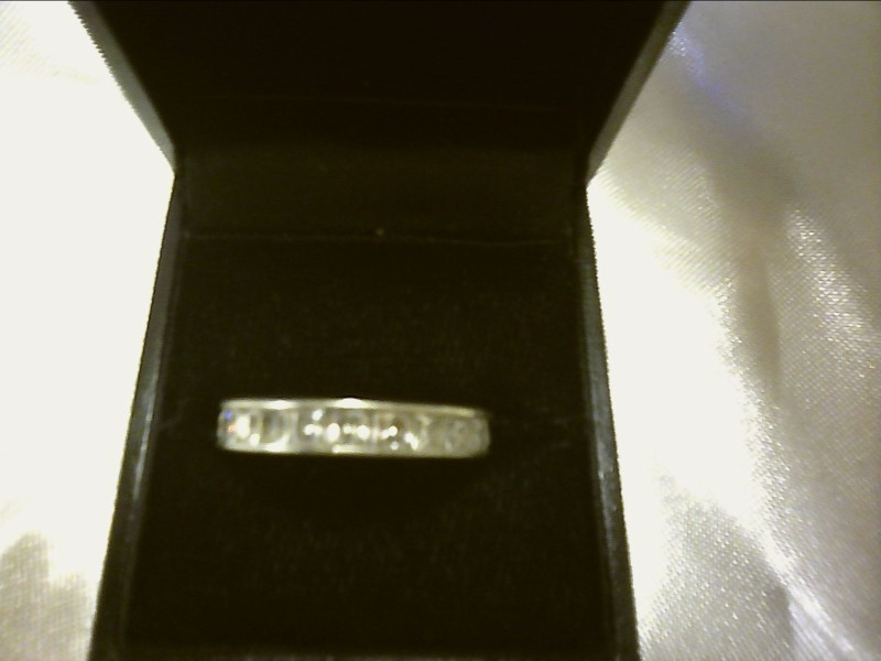 Lady's Silver Ring Silver Plate 2.97dwt
