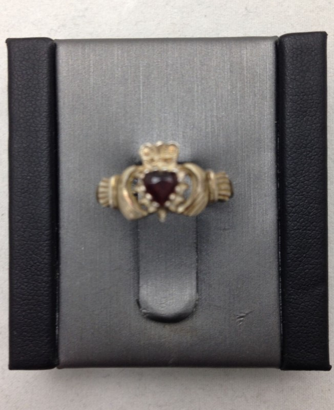 Lady's Silver Ring 925 Silver 1.1dwt