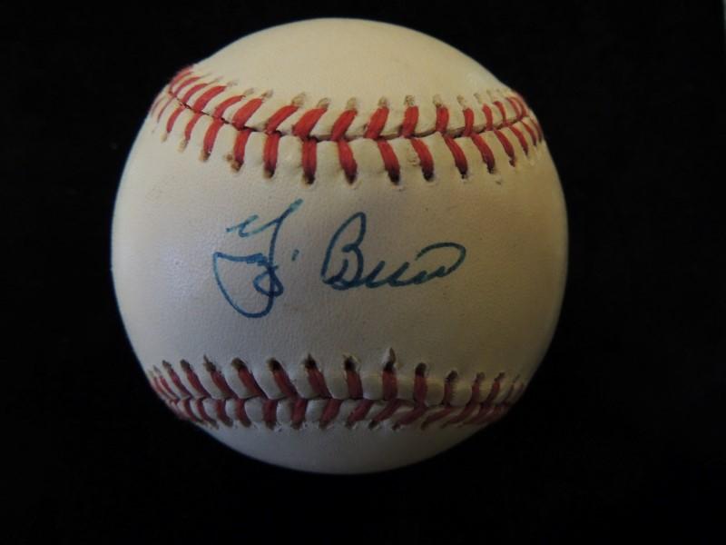 Yogi Berra Signed/Autographed Rawlings Official American League Baseball