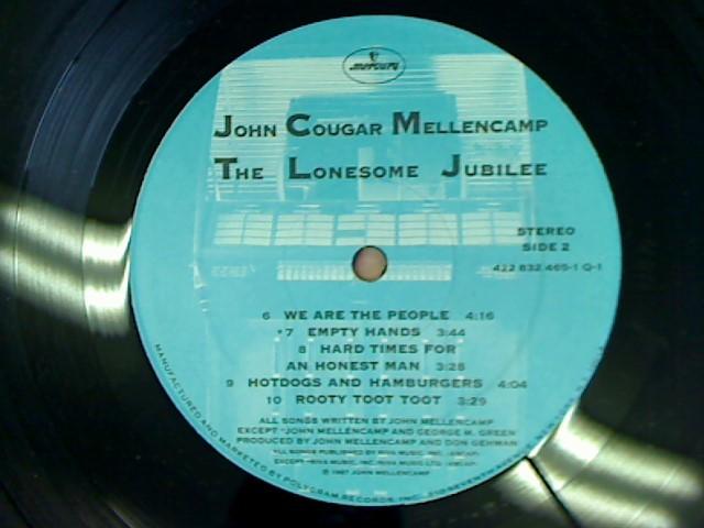 JOHN MELLENCAMP THE LONESOME JUBILEE
