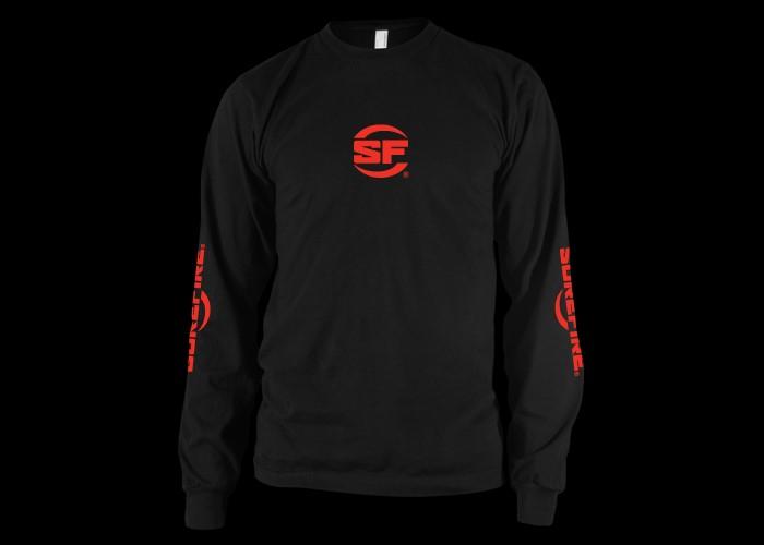SUREFIRE Shirt L/S, BLACK, SUREFIRE, XXL