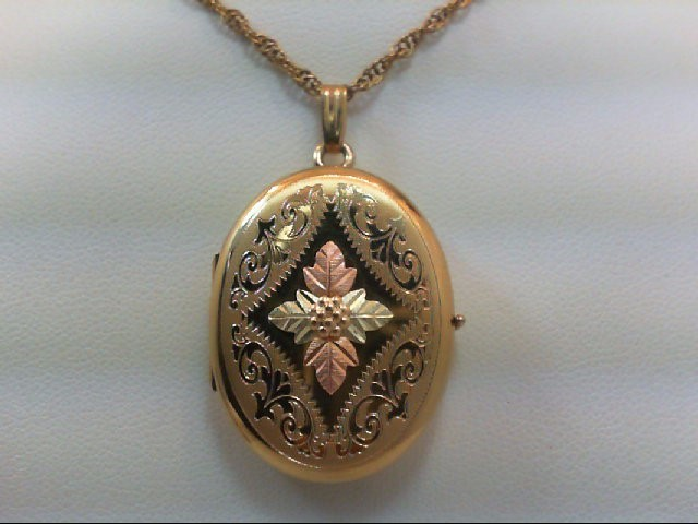 Gold Pendant Yellow Gold Filled 10.2g