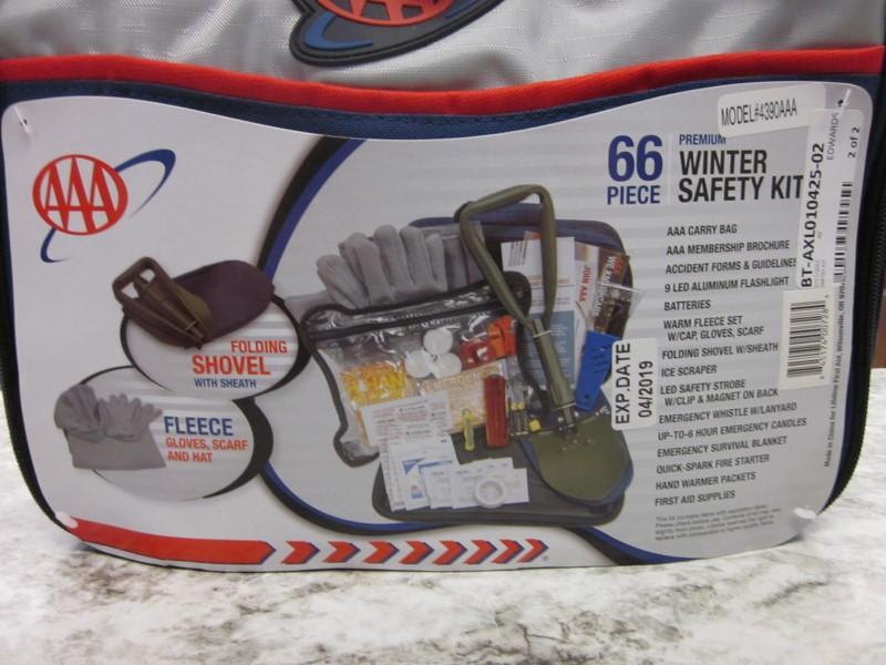 AAA 66 PIECE WINTER SAFETY KIT