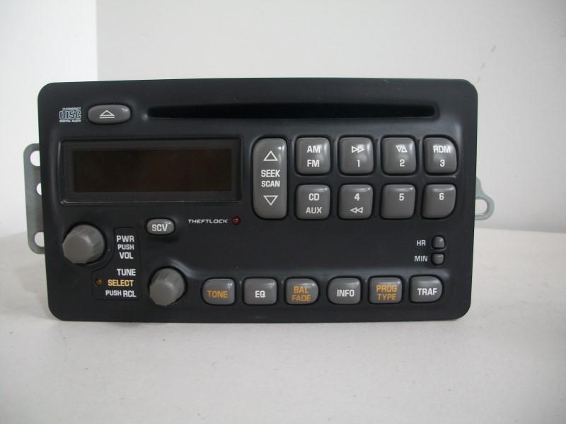 GM Car Audio STOCK CAR STEREO 09385272
