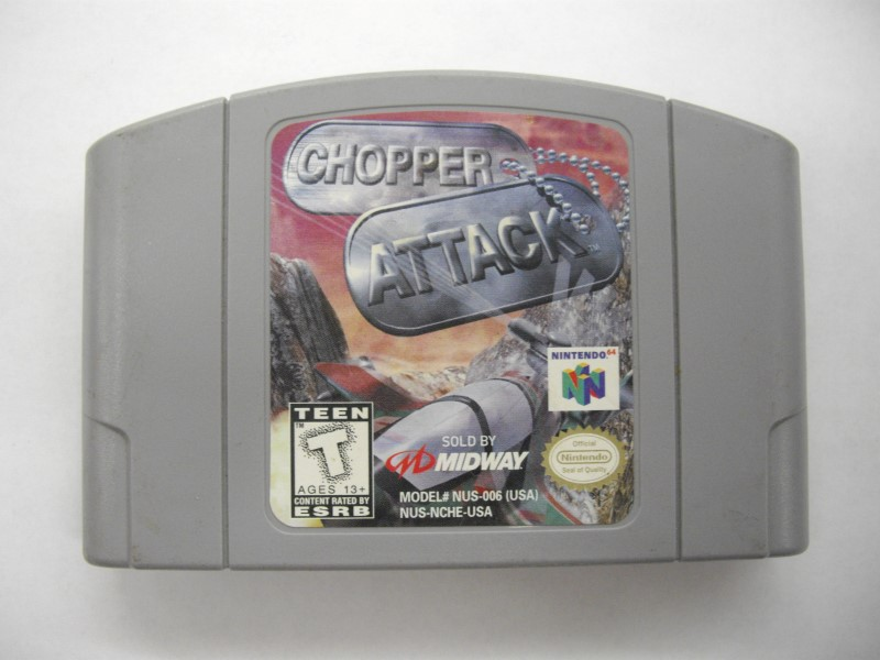 NINTENDO Nintendo 64 CHOPPER ATTACK *CARTRIDGE ONLY*