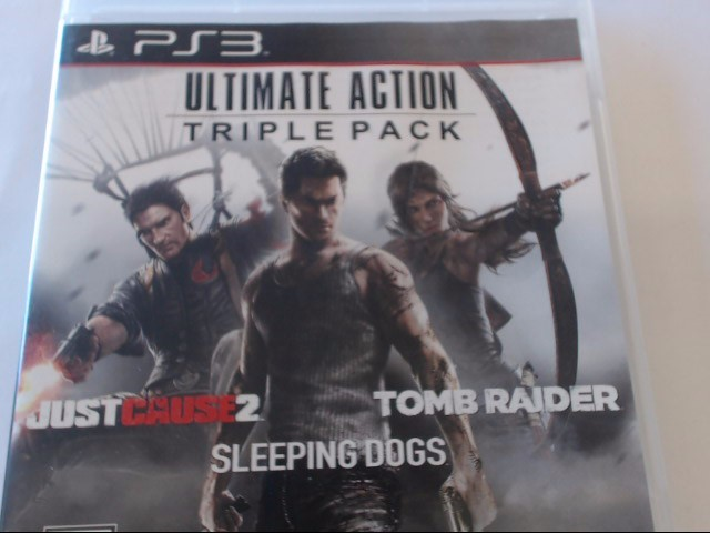 SONY PS3 ULTIMATE ACTION TRIPLE PACK