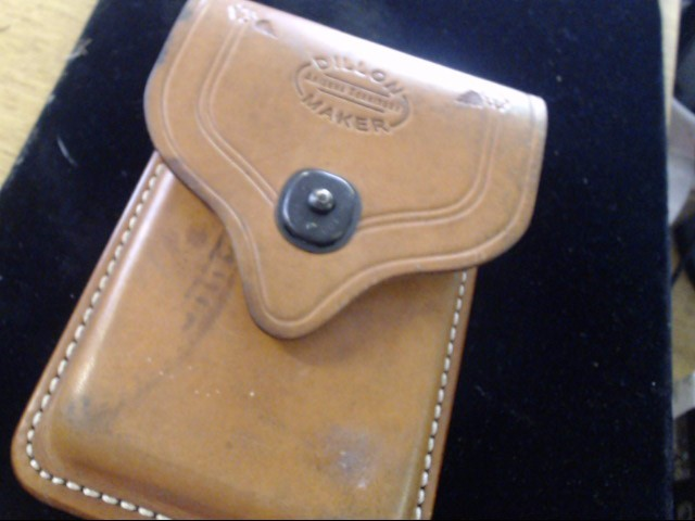 LEATHER MAGAZINE CASE