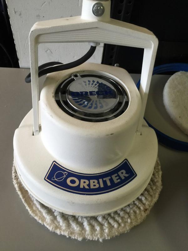 used oreck orbiter floor machine