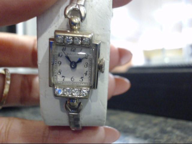 BULOVA Gent's Wristwatch 14K/DIAMONDS