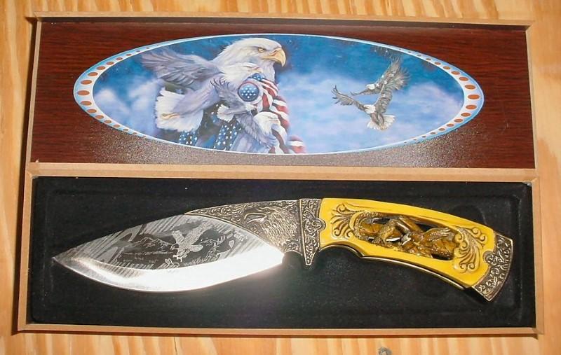 FROST CUTLERY AMERICAN EAGLE BOWIE KNIFE