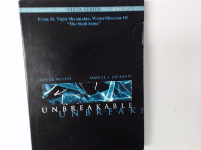 UNBREAKABLE DVD