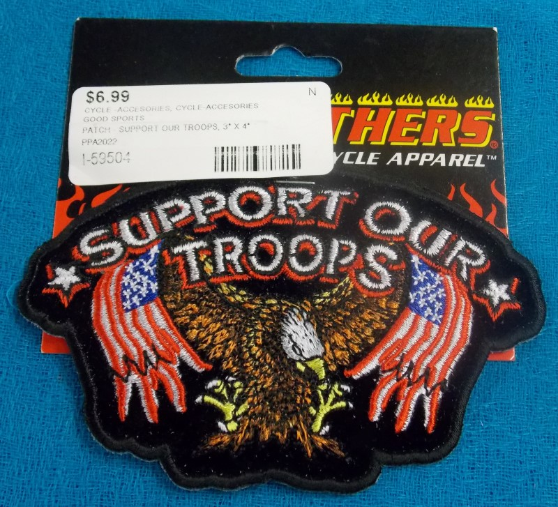 NEW PATCH/STICKER CYCLE -ACCESORIES CYCLE-ACCESORIES GOOD SPORTS PPA2022; PATCH