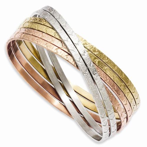 Bracelet Silver Stainless 42.34g