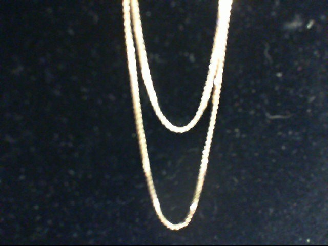 "19"" Gold Chain 14K Yellow Gold 3.4g"