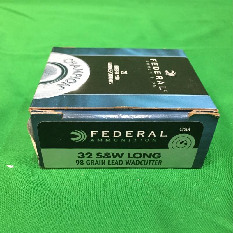 FEDERAL AMMUNITION Ammunition 32 S&W LONG