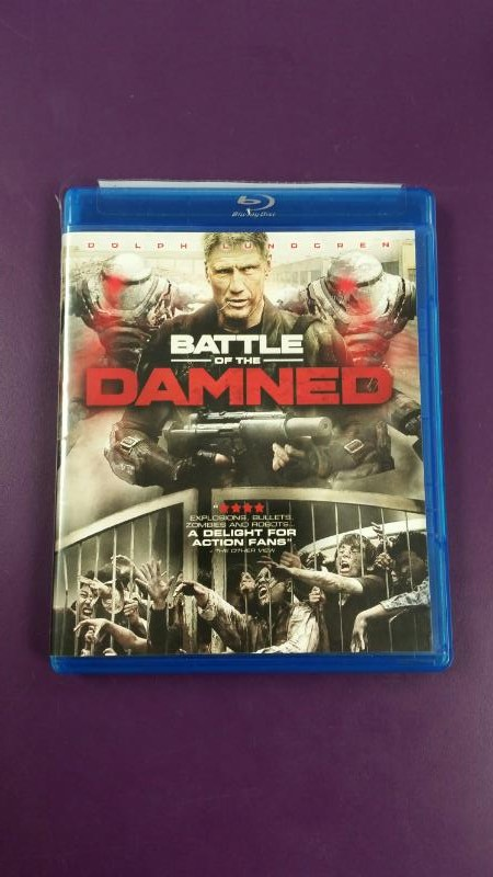 BLU-RAY MOVIE  BATTLE OF THE DAMNED
