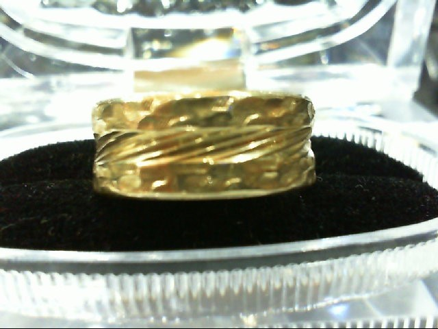 Lady's Gold Wedding Band 14K Yellow Gold 6.8g